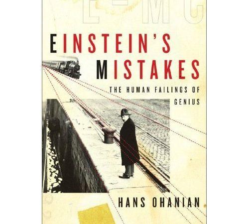 Os erros de Eistein