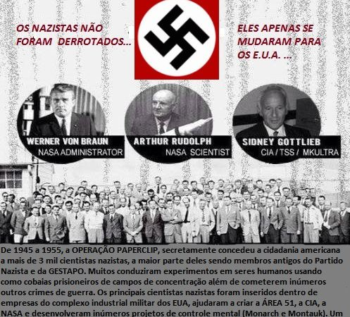 Operação Paperclip, o nazismo invade os EUA