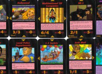 As cartas do jogo Illuminati & a Nova Ordem Mundial